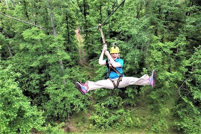 Zipline Forest Admission in Fontanel in Nashville