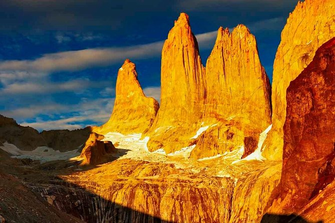 2-day Torres del Paine National Park + El Chalten Full Day