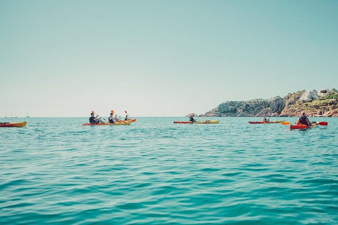 From Barcelona - Sitges Kayaking and Snorkeling