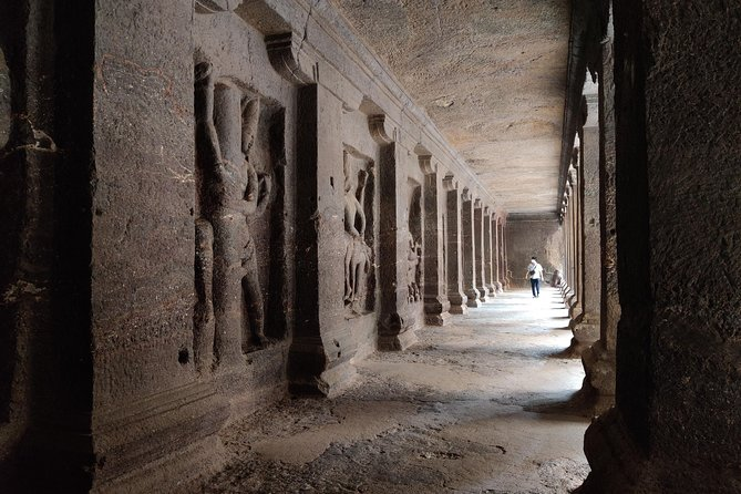Ajanta & Ellora Cave 2 day Guided Tour from Pune