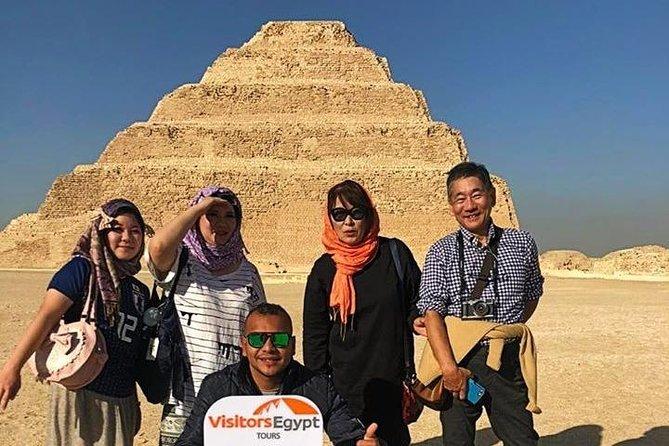 Pyramids, Memphis City and Sakkara Day Tour