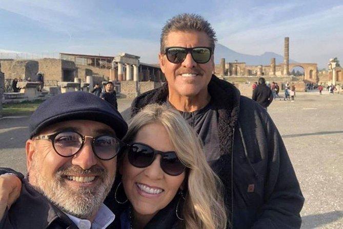 The Full Immersion Tour: Pompeii, Vesuvius and Positano with Pizza Tasting