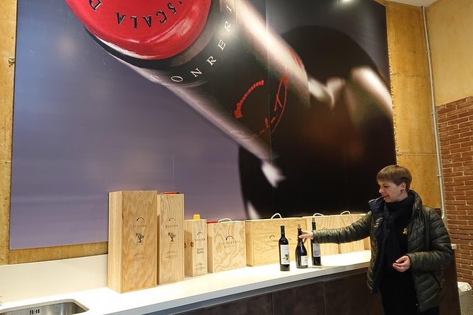 tasting wines cellar of Priorat