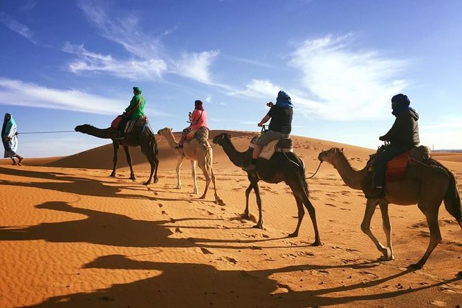 3 day Tour from Chefchaouen: Morocco Adventure Tour to Desert and Marrakech