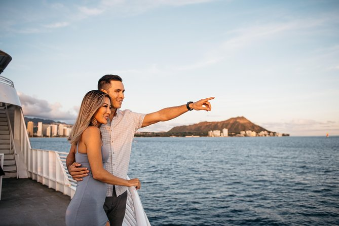 Majestic Sunset Dinner and Cocktail Cruise with Live Entertainment