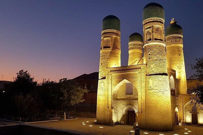 Bukhara - Night City on Rickshaw