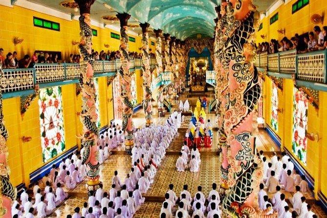 Ho Chi Minh City :Combination Cao Dai Temple & Cu Chi Tunnels