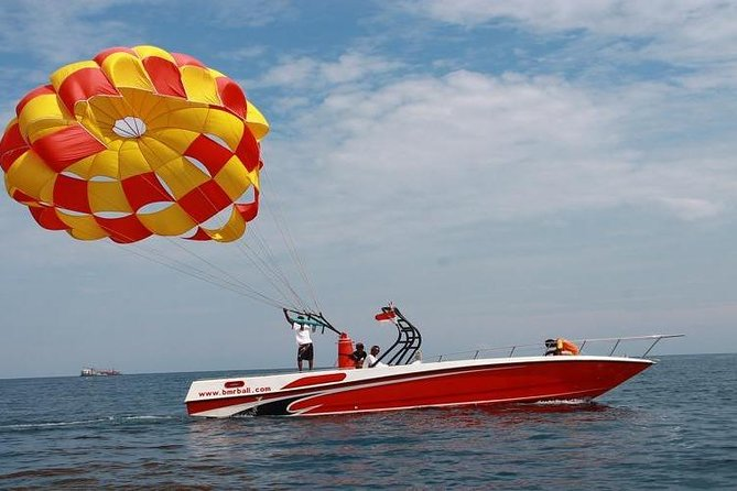 Bali Activities Parasailing Adventure & Jet Ski (Include Private Transfer)