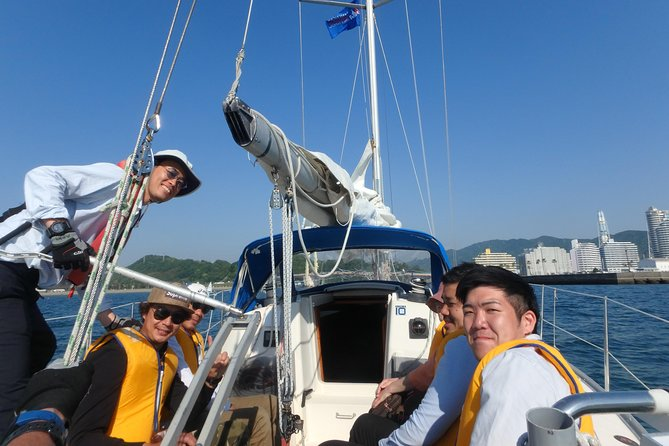 Yacht sailing experience off Kansai Airport