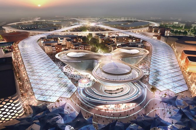 Excursion to Expo 2020:Evening sightseeing tour from Dubai