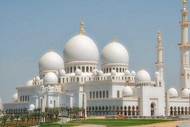 Private Abu Dhabi City Tour & Ferrari World Tour for 1 to 5 people from Dubai
