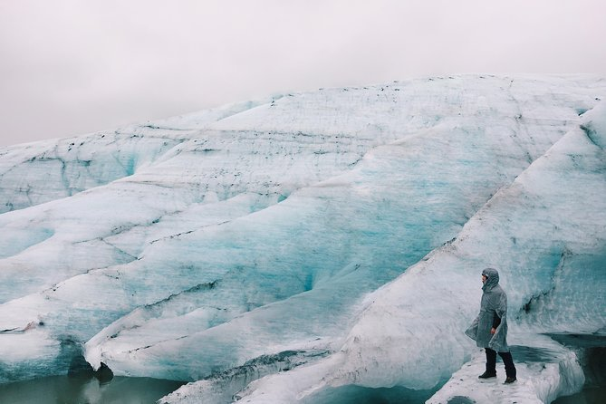 South Coast: Glacier hike, waterfalls & Skyr factory tour