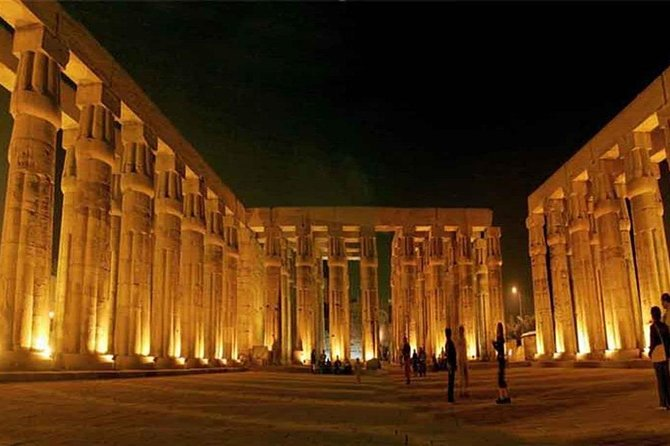 Sound & Light Show at Karnak Temple in Luxor