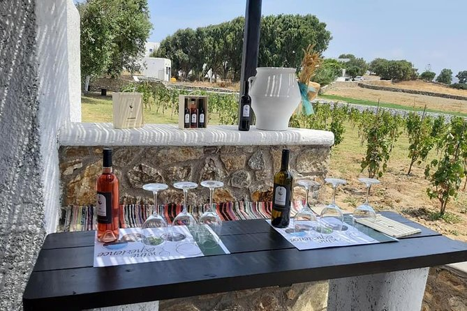 Wine Tasting Tour at a traditional farm in Mykonos