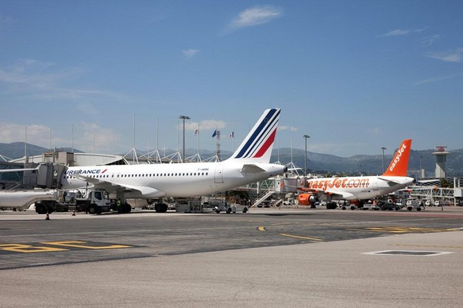 Private Driver Transfer Nice Côte d'Azur Airport to Monaco