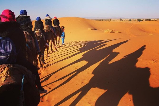 Luxury Desert Tour from Rabat to Merzouga and Marrakech for 4 Days 3 Nights