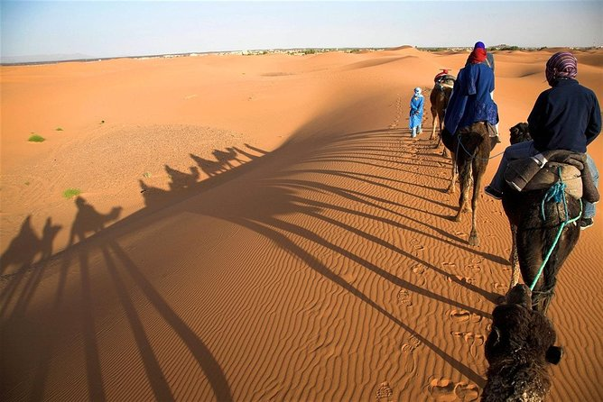 3-Day Private Desert Tour from Marrakech and finish in Fes