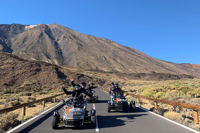 Tenerife: Tour in Can Am Spyder al Teide