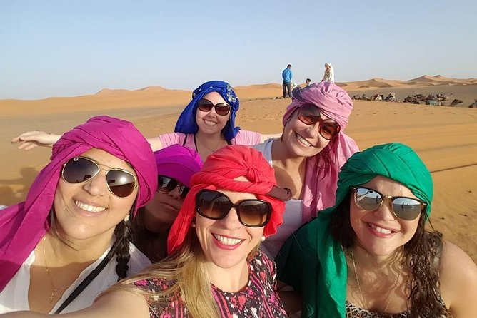 Women Only Tour from Tangier to Desert and Marrakech: 4 Days Private Travel
