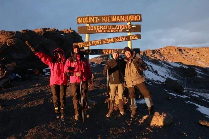 Mount Kilimanjaro 6 days - Machame route