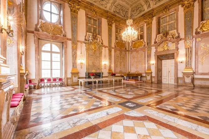 The venue: Marble Hall at Mirabell Palace