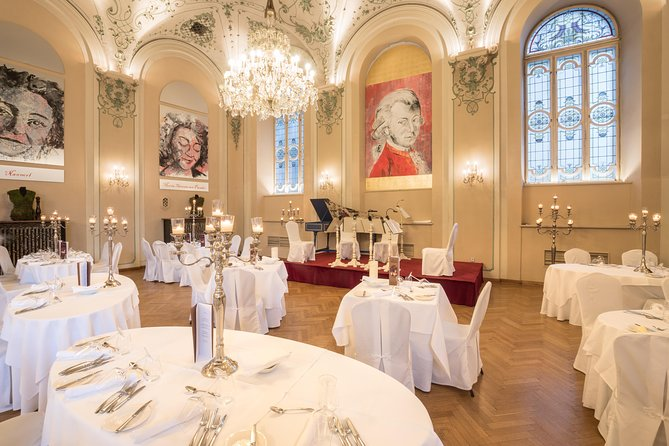 Mozart Dinner Concert at the Baroque Hall of St Peter`s Abbey in Salzburg photo 7