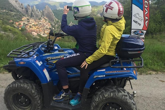 Quad tour of the Lucanian Dolomites