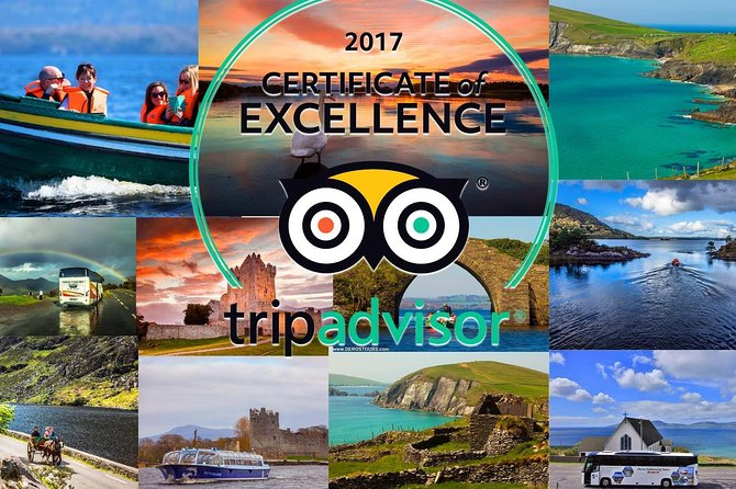 Killarney Highlights Half Day Tour (4 Hours) with Award Winning Driver/Guide
