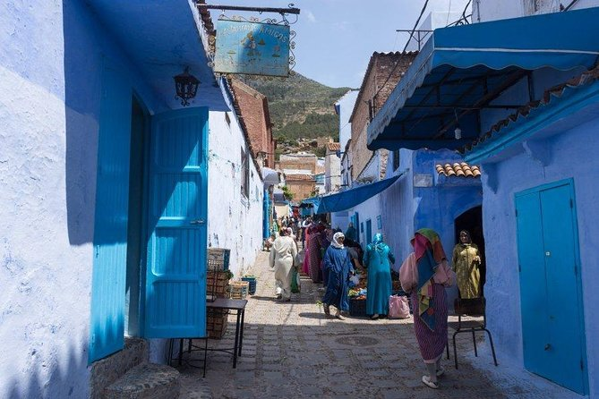 "Private Day Trip from Fez to Chefchaouen "" The Blue Pearl"""