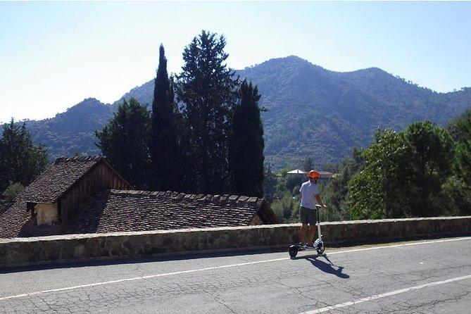 Escooter & walk exploration combo - Pitsilia - Troodos - from Larnaca
