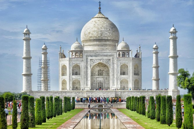 Private Exclusive Taj Mahal & Agra Tour by Express Train From - DELHI