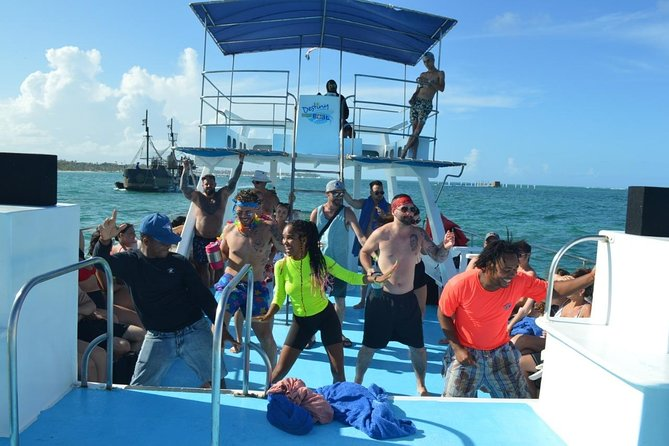 Party Boat on the coast of Punta Cana, Morning And Afternoon