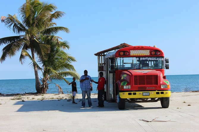 Harvest Caye - Belize Party Bus Extravaganza