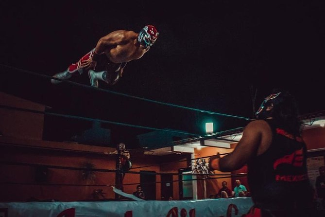 Lucha Libre, Tacos and Beer w transportation in Cancun - Mexican Wrestling