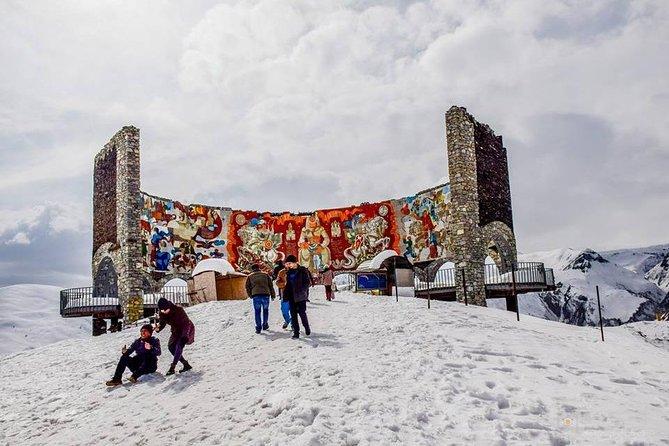Adventure in Ski Resort Gudauri