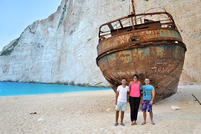 VIP Full Day Tour Shipwreck - Blue Caves