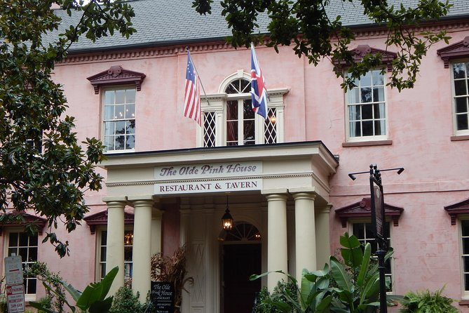 The Olde Pink House -- one of Jim William's most famous Savannah restorations.