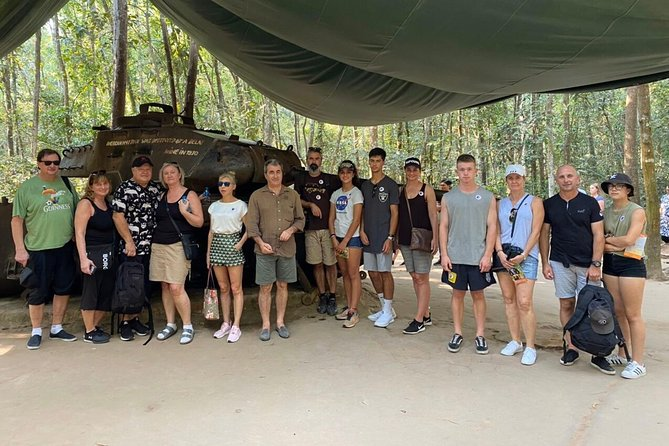 Cu Chi Tunnels: Morning or Afternoon Guided Trip Top Site Must Visit