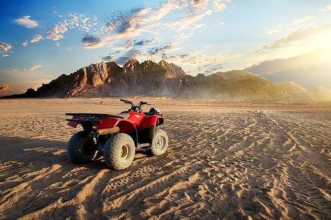Sunrise Quad Bike & Desert Safari Adventure with Transfers