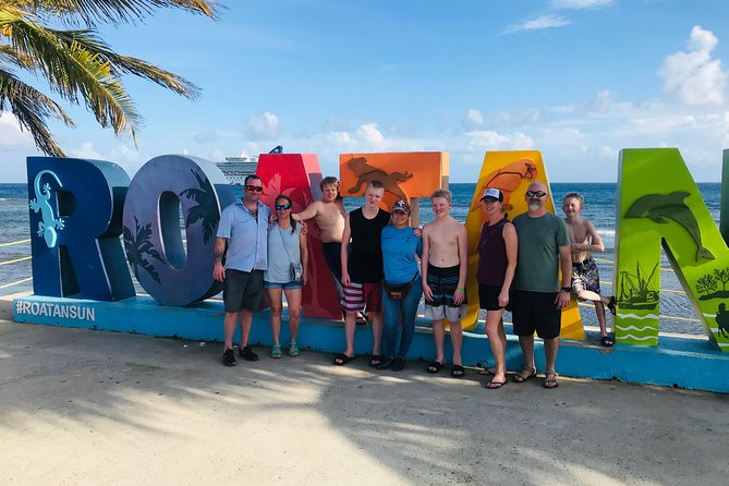 Island tour sightseeing +sanctuary and beach