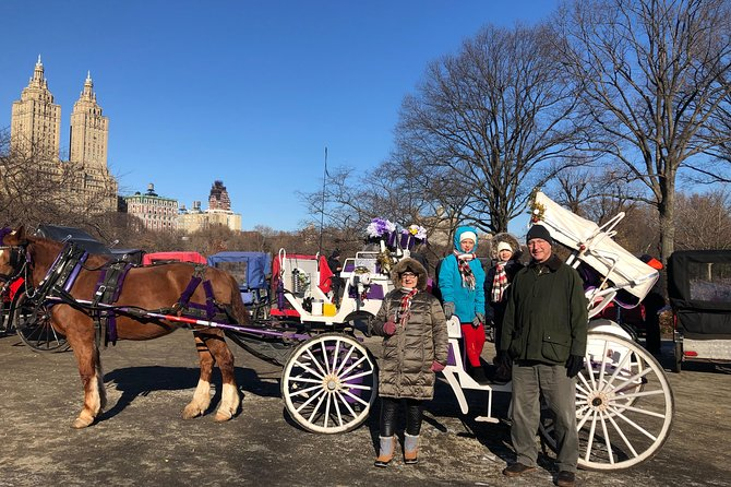 NYC Central Park Horse and Carriage Ride with Professional Photographer