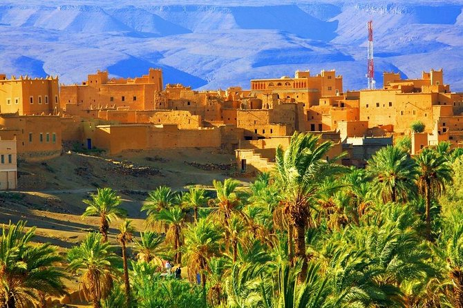 excursion to the village of 45 Kasbahs from Ouarzazate