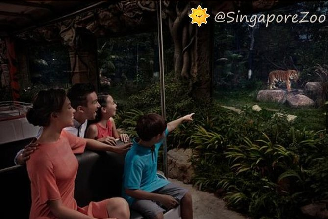 Hop-On Tram Ride with the Singapore Night Safari (direct entry) photo 3
