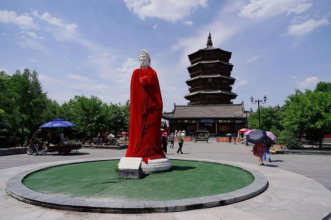 Datong 2-Day Tour with Ying Xian Wooden Pagoda from Beijing by Bullet Train