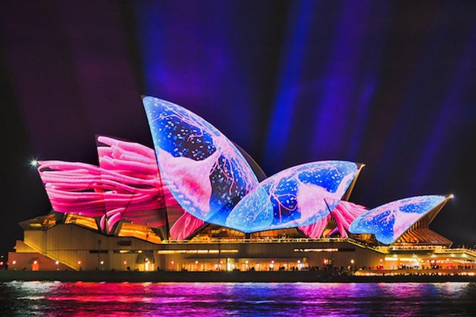 Vivid 90-Minute Sydney Harbour Small Group Catamaran Cruise