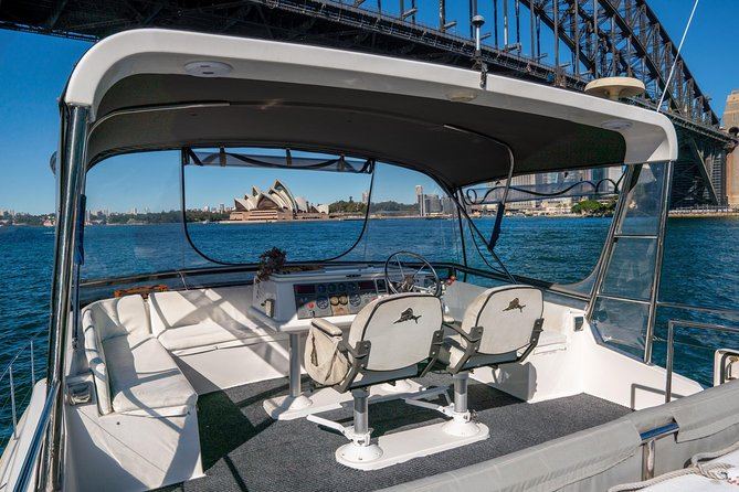 Vivid 90-Minute Sydney Harbour Small Group Catamaran Cruise