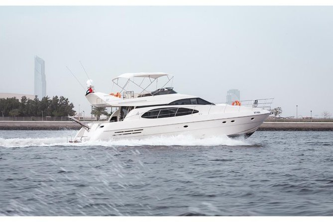 Azimuth 62 Ft Luxury Private yacht for Buraj Al Arab, Marina, Atlantis Tours