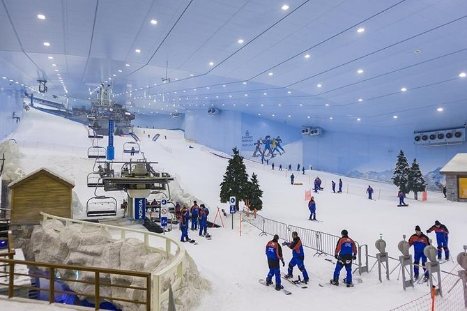 Ski Dubai tour with private transfers