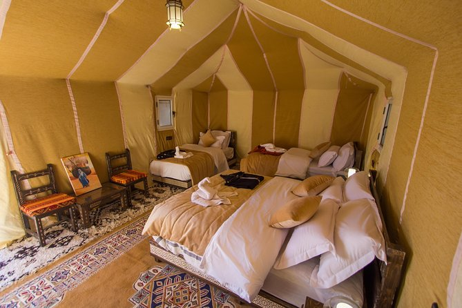 Luxury Morocco Tour for 5 Days from Casablanca with Camel Trek in Desert