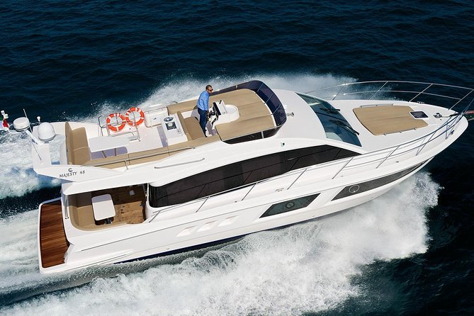 Majesty 48 Ft (Luxury Private Yacht ) for 2 Hours in just $560 photo 1